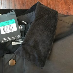 5a5ded529773 ... Nike Jackets Coats - Nike SB x Numbers Coaches Black Mens Jacket XL  best loved cd403 ...